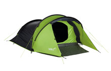 Gelert Chinook 3 tente tunnel gris/vert